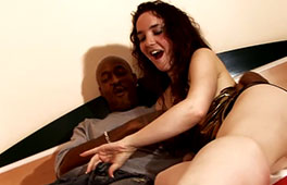 White wife enjoys her secret lovers big black cock