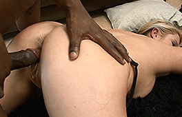 Curvy blonde MILF gets nailed by BBC