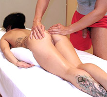 Latina Teen Massage Casting