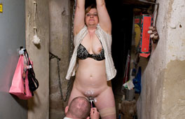 Cheating Wife punished In The Basement