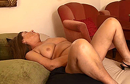 Busty Granny Gets Drilled Hard By Her Lover