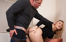 Satisfying her stepfather