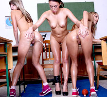 Schoolgirls Punishment