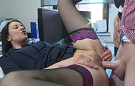 Manager fucks his two secretaries