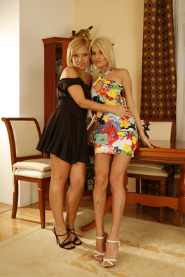 Szilvia And Jasmine Love Working Late, Especially When Get To Satisfy Each Other With Big, Vibrating Toys.