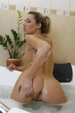 Yulia Is Young, Blonde And A Pretty Little Slut. Today She'S Having Fun In The Bath And She'S Got A Friend Filming Her Who Just Can'T Resist Having A Touch. Yulia Sprays A Shower Up Her Pussy And Fingers Her Gorgeous Snatch Until She Has An Intense Orgasm, It'S Great.