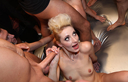 German girl gangbang – part 1 - סרטי סקס