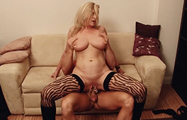 German MILF Maria Montana gets it rough - סרטי סקס