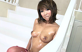 Perfect oily Japanese boobies - סרטי סקס