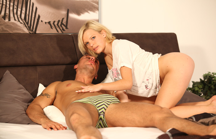 Czech Cheating Wife Massage