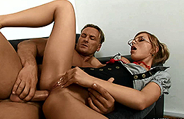 German secretary Jennifer Love loves to fuck anal - סרטי סקס
