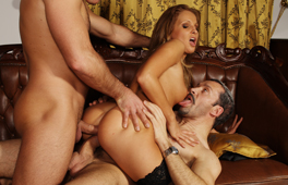Threesome and Double penetration