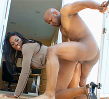 Perfect black housewife
